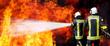 Feuerwehr in Aktion - 51785228