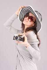 turista fotografa