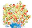 Fruit coctail.