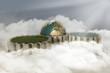 Erde Zahnrad Wolken Wasser