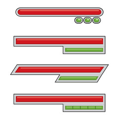 Simple Life Bar Game Assets