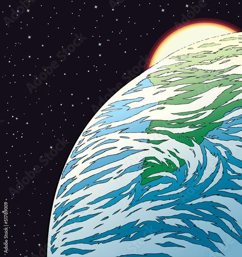 Earth Drawing