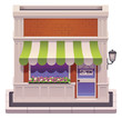 Vector small shop icon