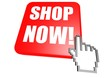 Shop now button with cursor