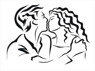 beso apasionado