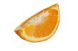 a quarter of an orange