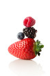 The berry pyramid of health.