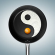 Yin and yang. A fried egg philosophy.