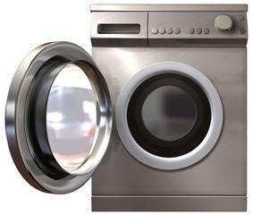 Washing Machine Front Door Open