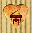 Vintage Heart - Flügel II
