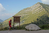 Mountain bike a passo Tremalzo