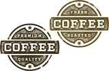 Vintage Premium Coffee Stamps