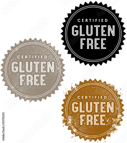 Certified Gluten Free Stamps