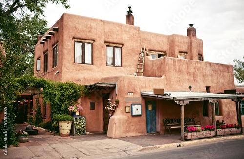Historical houses of Santa Fe, New Mexico