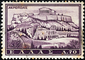 Acropolis, Athens (Greece 1961)