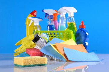 Washing concept on light background