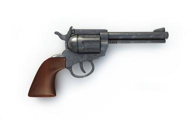 Alte Pistole - Konzept Wilder Westen