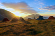 Campo Imperatore sunrise at Base Camp, L'Aquila, Italy