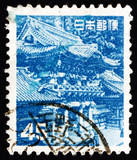 Postage stamp Japan 1952 Yomei Gate, Nikko City