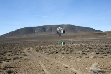 The Karoo a semi desert natural region S Africa