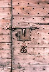 Portone e serratura