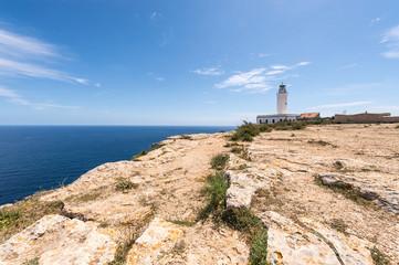 Formentera La Mota lighthouse mediterranean Sea