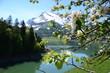 Spring in Switzerland. Waegitalersee