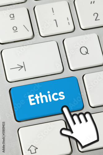 Ethics keyboard key
