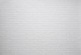 Fototapety White brick wall background, texture