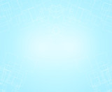 pale sky blue background with soft pastel vintage background
