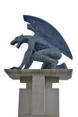 Gargoyle isolated