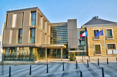 France, the city hall of Les Mureaux