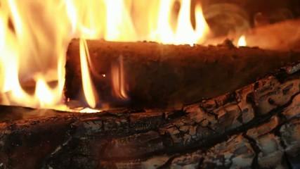 Cheminée feu