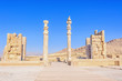 Ruins of ancient Persepolis in northwest Shiraz, Iran.