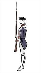 soldado francés