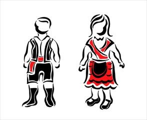 traje típico gallego