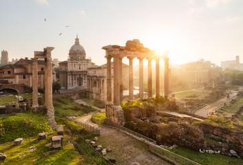 Rome ruines forum romain