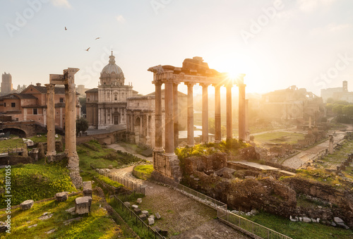 Rome ruines forum romain - 51817055
