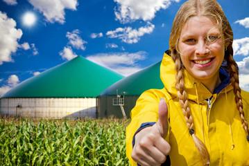 Alles klar, Biogas !