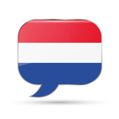 Dutch speech bubble