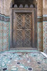 Madrasa Bou Inania in Fes, Morocco