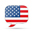 America speech bubble