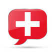 Swiss speech bubble