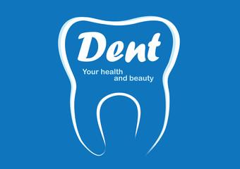 dent logotype, dental logo