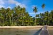 Beautiful beach and tropical sea, Thailand.