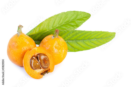 Loquats isolated_II