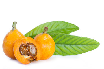 Loquats isolated