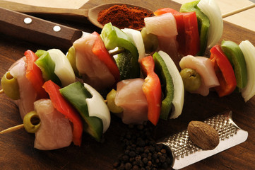Brochette mixto Mixed Brochette