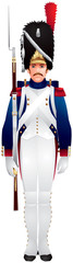 Napoleonic Imperial Old Guard uniform