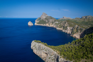 Cap de Formentor - Meeting point of the winds, Majorca, Spain